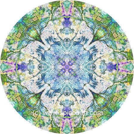 Kaleidoscope Art Print - Great Sandy Desert 07